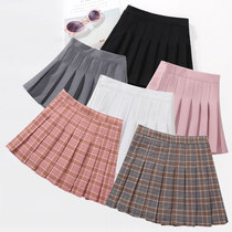 Girls skirt 2019 spring and autumn new childrens skirts in the Big children pleated skirt students skirt girls skirt