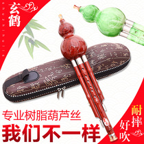 Xuanhe resin imitation wood professional three tone gourd musical instrument beginner C tune down B tune