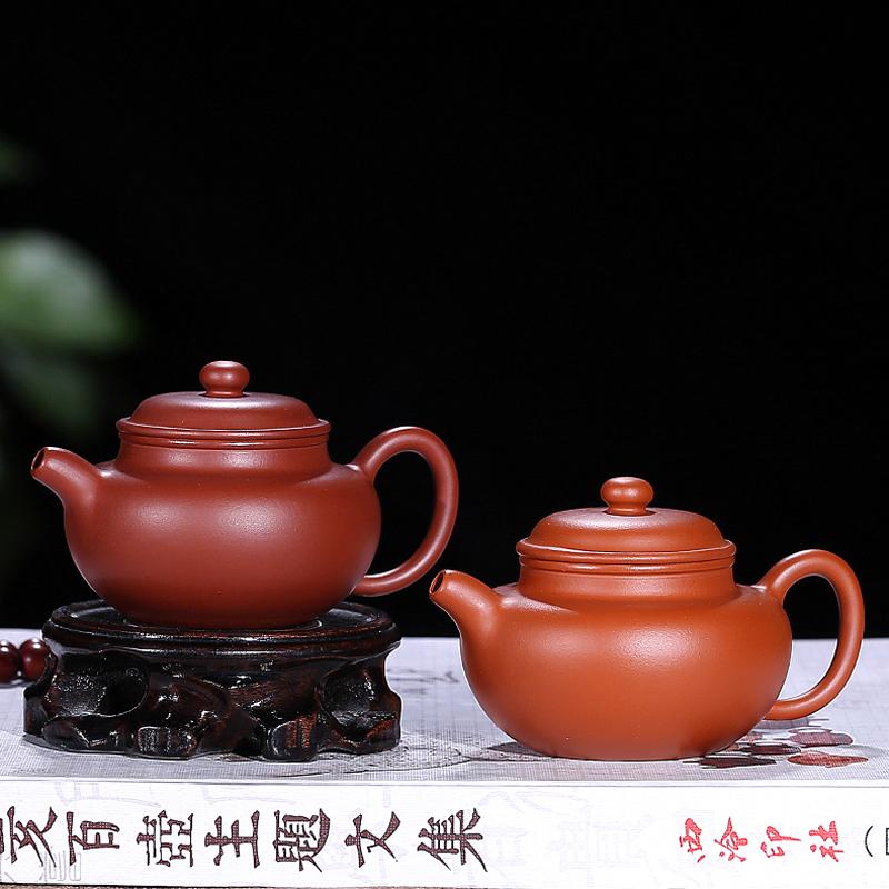 The Purple Black Mud Mud Pot Hand Gourd Zhu Famous 240cc Teapots Kitchen,dining & Bar