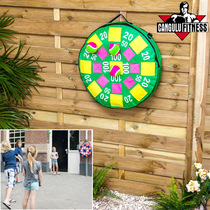 Throwing sticky ball target flying toy safety inflatable dart board game sticky sticky ball dart sticky ball target childrens preschool