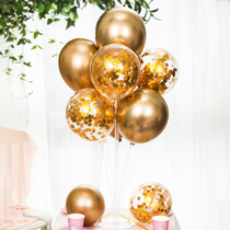 Table floating balloon wedding wedding decoration balloon bracket wedding room layout birthday party decoration balloon
