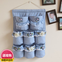 Leisure House Princess lace cartoon storage bag storage bag cloth bag storage bag storage bag cloth multi-layer