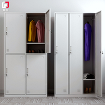 Locker staff locker steel locker for wardrobe factory dormitory storage shoe cabinet cupboard iron wardrobe