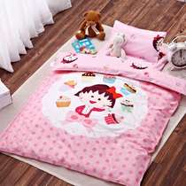 Kindergarten quilt three sets of spring and summer cotton with core children nap small bed baby Kit bedding six sets
