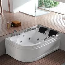 One villa bathtub heated heated bubble bath embedded in the special Type Japanese surf bathroom European-style large corner