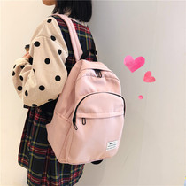 bf wind vintage sense girl bag ins wind Sen backpack Tide brand Wild Korean high school students backpack