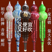 Gourd C tune musical instrument beginner children primary and Secondary School professional drop adult drop B tune Yunnan musical instrument gourd