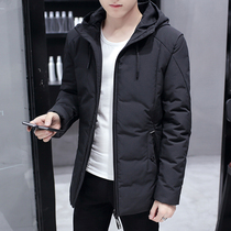 2018 Winter new coat mens coat Korean trend thickening short paragraph students down cotton winter coat jacket