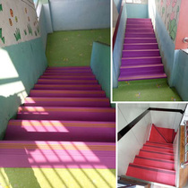 Staircase Pedal Pad Stop skateboard kindergarten anti-slip strip overall mat home pad door step PVC Rubber