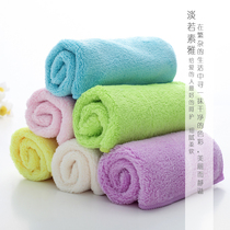 Myoko 6 loaded coral velvet wash cloth thickening cleaning cloth kitchen dish towel coral velvet wipe cloth tablecloth