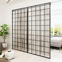Nordic home iron partition screen decoration living room office porch partition wall home bedroom room partition