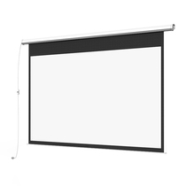 Riga projection screen 100-inch remote control electric curtain HD projector home office projector screen
