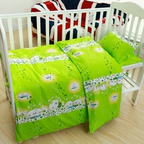 Childrens quilt cotton cartoon kindergarten quilt three-piece set six-piece set support kindergarten customization