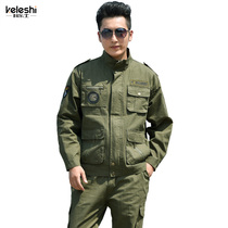 Camouflage suit summer men and women military uniforms Special Forces training uniforms military fans outdoor clothing site uniforms