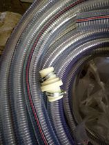Direct PVC transparent steel hose anti-freeze season soft wire spiral water pipe 4 points 6 points 1 inch 2 inch 3 inch