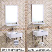 Hanging wall type wash basin small bathroom washbasin Mini bracket basin balcony ceramic hanging basin