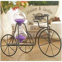 Send boyfriend and girlfriend cute birthday gift creative teacher student craft hourglass tricycle ornaments small gifts