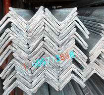 Hot galvanized angle steel Galvanized triangle iron punch angle steel attic curtain wall 3 s 4 s 5 s national standard non-standard