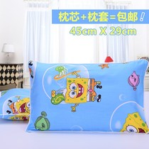 Kindergarten pillow 0-1-3-6 years old four seasons Universal Children 2 children baby children baby head pillow