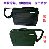 Genuine 07 bag new Fire green bag raincoat outdoor military black bag thickened Oxford shoulder bag