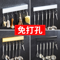 No punching bathroom bathroom hook hanger hanging rack wall top hat hook kitchen space aluminum clothes towel