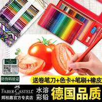 Germany Faber 72 color water-soluble color lead 36 color 48 color 60 color tin professional oily color pencil brush hand-painted suit students with beginners drawing the official flagship store official website