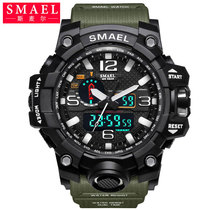 Smail electronic watch commando luminous fishing sports de plein air multi-function waterproof waterwomans