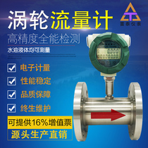LWGY Intelligent Liquid turbine flowmeter methanol diesel kerosene gasoline chemical water pulse sensor gas