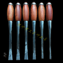 Mahogany Chisel chisel Chisel Falcon Eye chisel punching mahogany handle new product