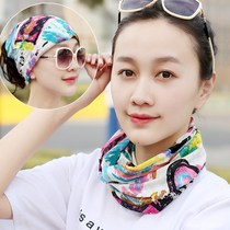 Desert sand windproof headdress sports collar outdoor fishing sunscreen collar mask female neck set riding headdress female