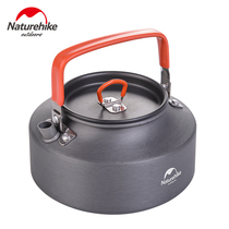 No customer outside teapot kettle camping portable wild boiled water 1 1L hard alumina coffee pot kettle