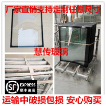Factory direct electric tricycle front windshield tempered glass support any size custom