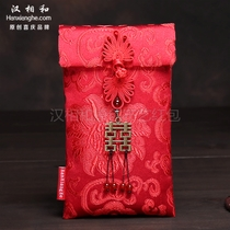 New Magenta bag wedding high-grade cloth Chinese style words million yuan to change the mouth is a letter of personality Chinese red envelopes