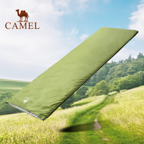 CAMEL Camel outdoor sleeping bag winter thickening adult camping travel hotel indoor warm dirty sleeping bag