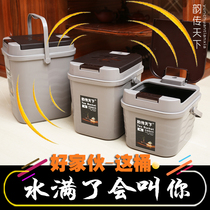 Tea bucket tea residue bucket garbage filter drainage bucket tea table waste water bucket Kung Fu trumpet tea bucket tea accessories home