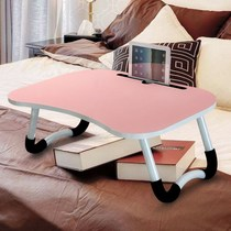 Desk bed computer desk notebook big student folding lazy desk learning dormitory artifact writing small table