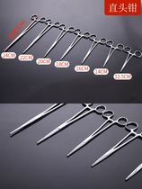 Medical equipment scissors tweezers hemostat straight tip elbow stainless steel medical tools