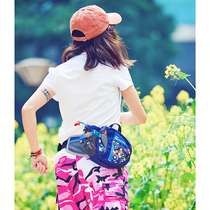 Joni Weiss outdoor self-made multi-function large capacity Joker tear solid color pot small waist bag men and women