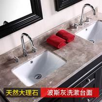 Desktop Marble countertop windowsill simple stone Simple Board artificial stone Fire Board custom wrapping Kitchen Natural