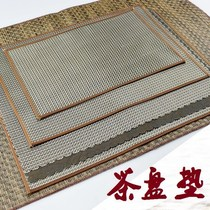 Tea residue bamboo mat strainer tea tray mat bamboo Japanese Tea Taiwan New tea weaving tea leaves filter bamboo tea