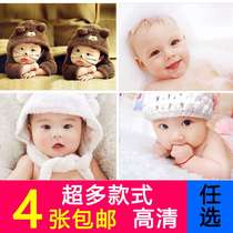 Baby drawing preparation pregnant posters good-looking baby posters children wall stickers children bb boys mixed-race wall charts Meng treasure