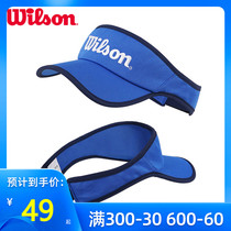 Wilson Wellwins Fashion Tennis Hat Printemps Été Quick-Dry Topless Sunwear Tricoté Hat Sport Bâillement Hat