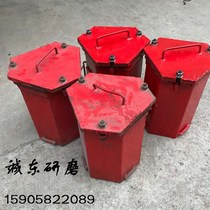 Hexagon barrel Hexagon drum 30 L centrifuge special material box grinding and polishing PU rubber kegs PU small drum