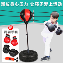 Special sandbag thick kids girls protective gear against child protection boxing gloves parent-child suit defense