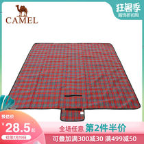Camel outdoor oxford cloth picnic mat picnic mat portable folding picnic cloth beach mats thickened moisture-proof mats