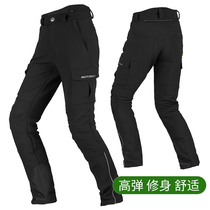 Summer motoboy road motorcycle riding pants motorcycle rider drop pants street running racing oxford cloth pants