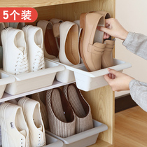 5 installed space-saving home shoes storage rack shoe rack shoe cabinet artifact finishing rack shoe care network red dormitory artifact