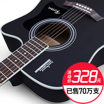 Luussen plate guitar folk guitar 41 inch acoustic guitar beginners beginners guitar students with men and women