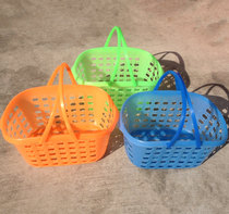 Square New Material portable plastic fruit picking basket loquat cherry egg plum basket Bayberry strawberry basket special