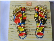 Spring foot massage foot sole foot massage plate foot massage wooden foot plate home massage